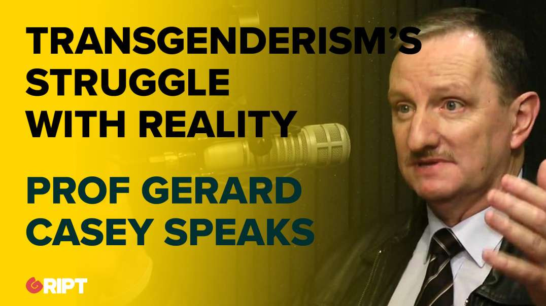 Professor Gerard Casey re his new book Hidden Agender: Transgenderism's Struggle Against Realit