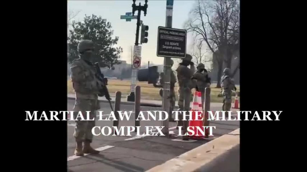 MARTIAL LAW MILITARY COMPLEX TAKING SHAPE JAN 2021 USA