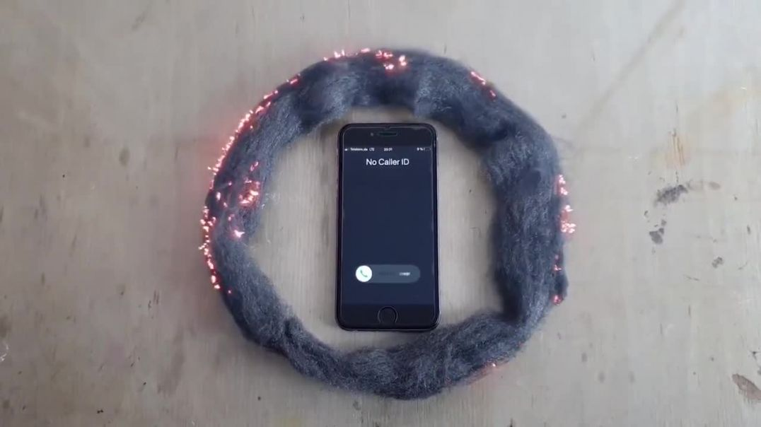 Mobile Phone vs Steel Wool, How Your Phone Damages Your Brain.