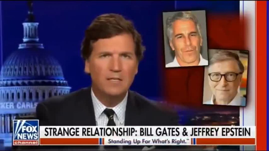 Bill Gates Strange Relationship with Jeffrey Epstein & other Notorious Paedophiles. ~Tucker Carl