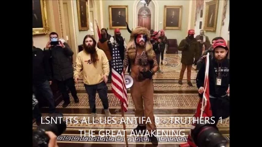 White House Got Stormed Antifa 0 Truthers 1 Worlds A Stage JAN 2021