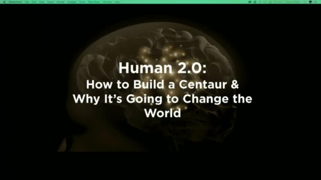 Dr. Amy Kruse | ⁣Human 2.0: How to Build a Centaur & Why It's Going to Change the World