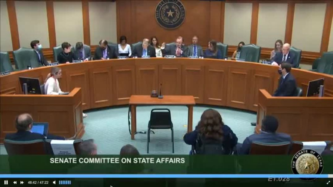 Doctors Testify Before Texas State Senate To Oppose Mandatory C-19 Shots