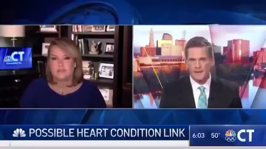 18 CHILDREN IN HOSPITAL JUST IN CONNECTICUT SUFFERING HEART PROBLEMS AFTER VACCINE
