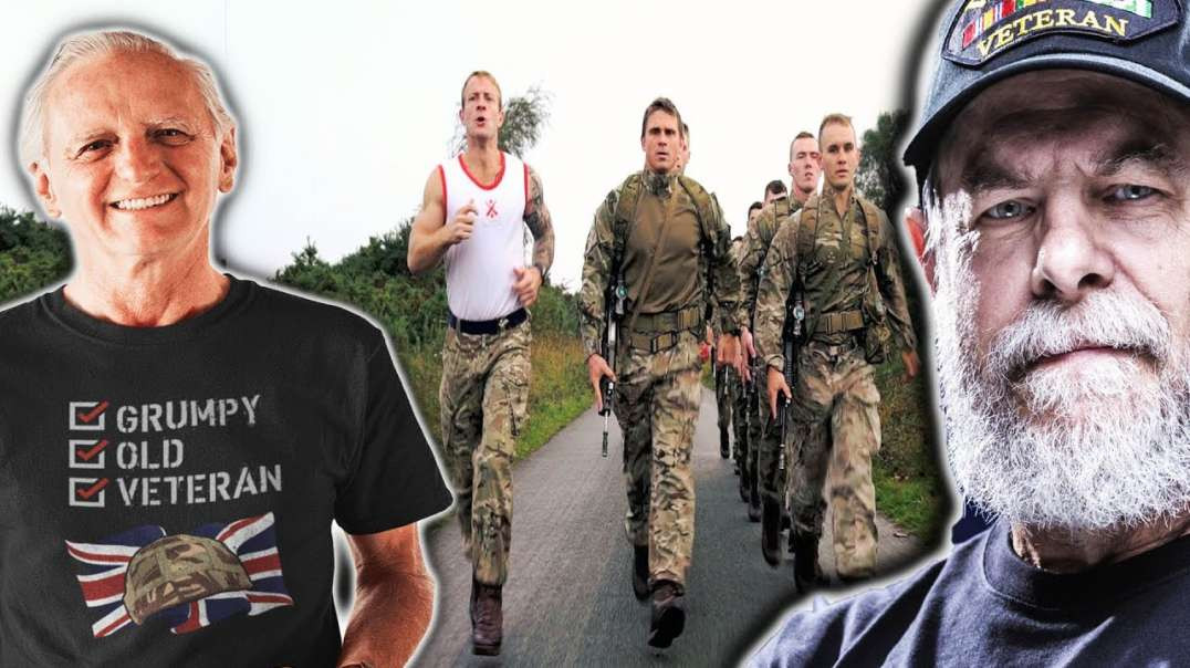 Elite Forces Veterans Take On Royal Marines 9-Mile Speed March