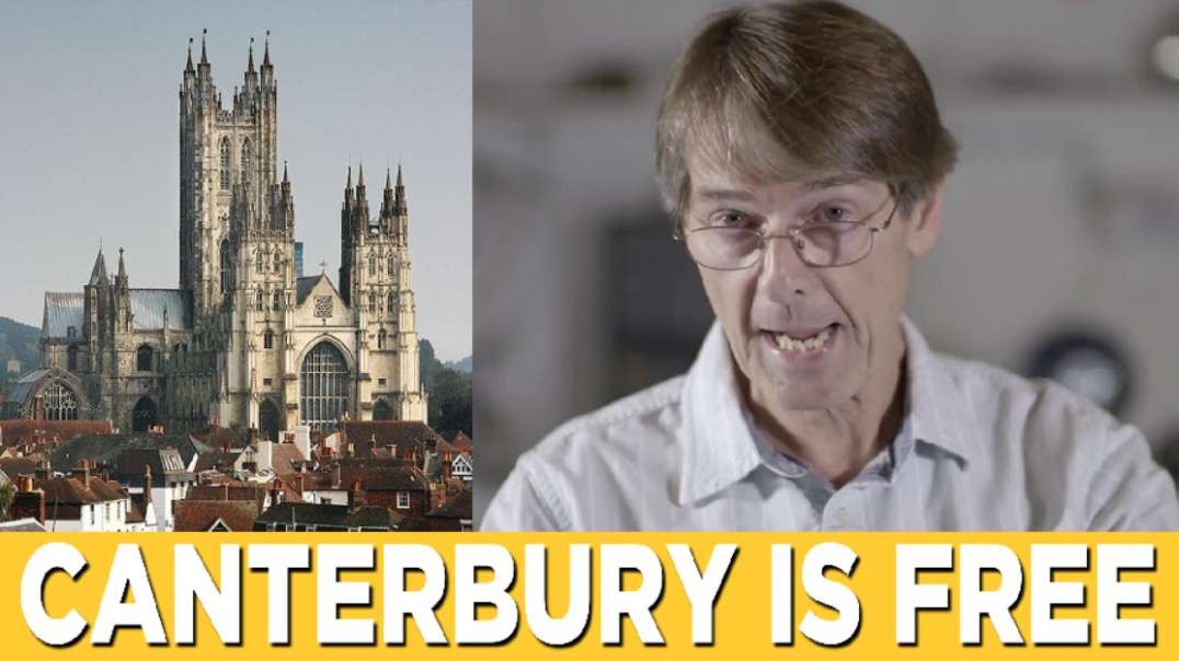 ⁣Canterbury is Free with Dr Mike Yeadon! Freedom March 15th May 2021