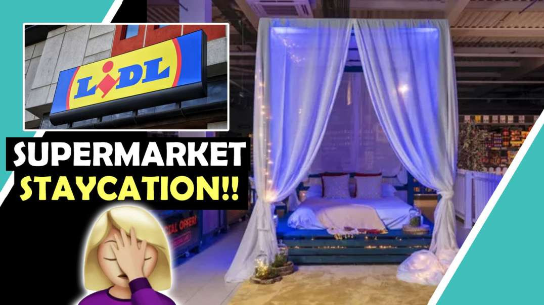 LIDL Staycation In The Aisle CLOWN WORLD / Hugo Talks Some More #lockdown