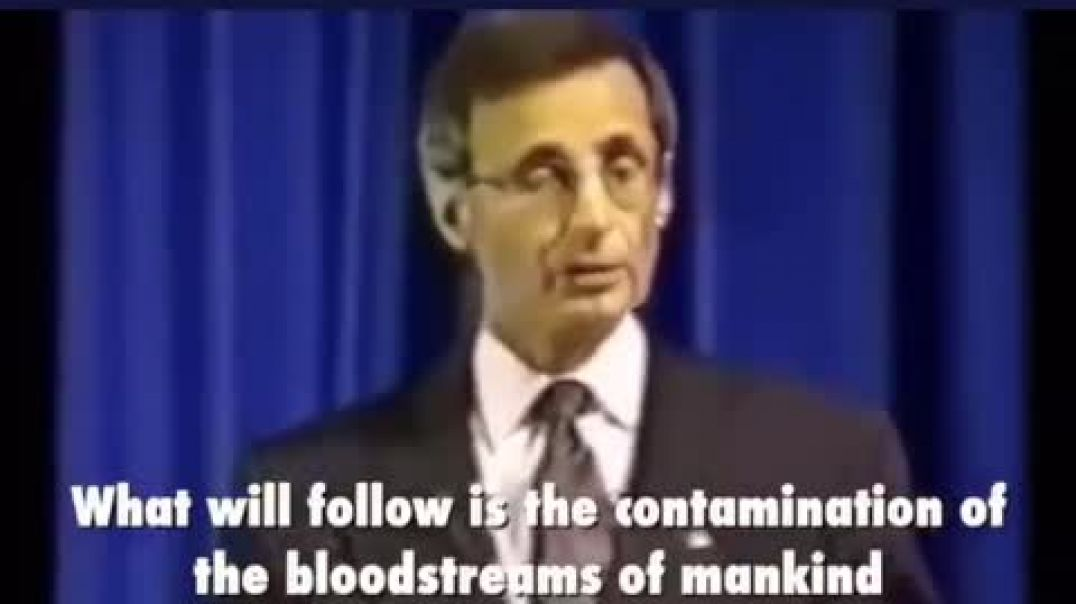 """Dr. Pierre Gilbert - """"Contaminating the bloodstream will be enforced by law"""" (1995)"""