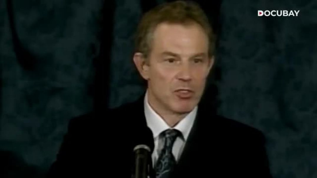 Tony Blair - the second MOST EVIL, CORRUPT man in the world AFTER Bill Gates
