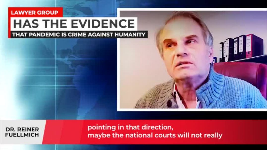 Dr. Reiner Fuellmich | Evidence That The Pandemic is a Crime