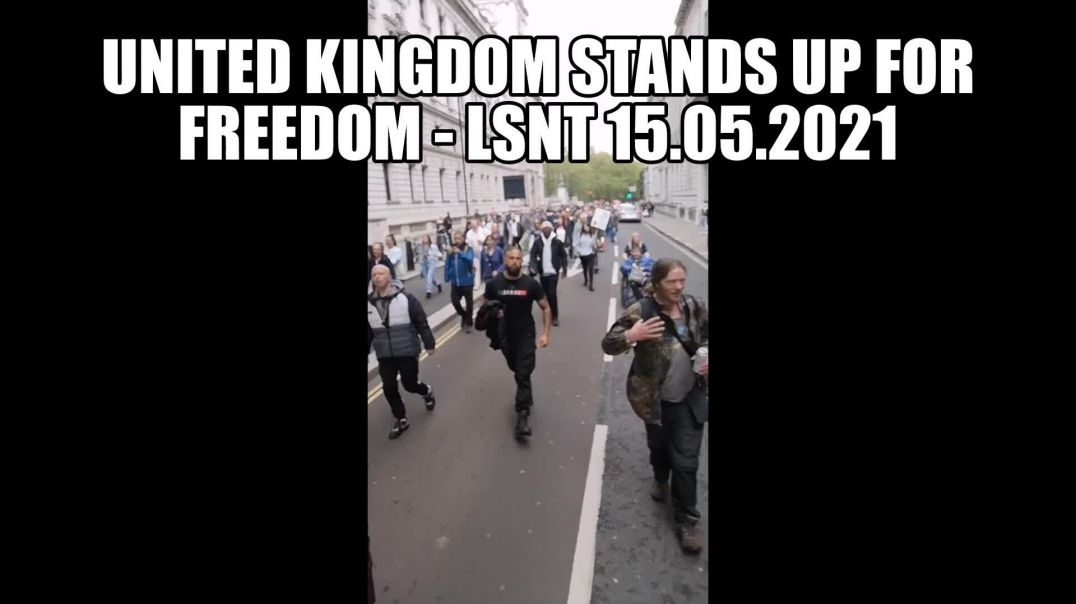 PROTEST!!! United Kingdom STANDS UP Freedom Protest! Great Awakening