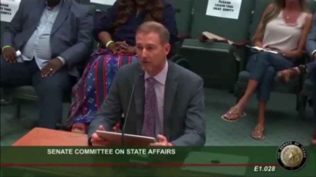 Dr Ben Edwards Testifies To Texas State Senate on Vaccines, VAERS, Nuremberg Violations