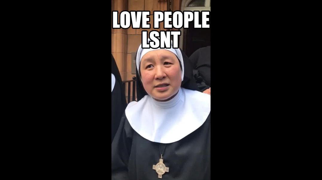 LOVE PEOPLE NOT MONEY! Nun Speaks Out We Are Praying For The Victims