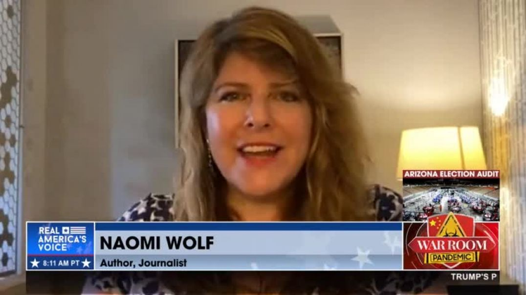Dr. Naomi Wolf | Dr. Fauci Funding GOF Research in Wuhan