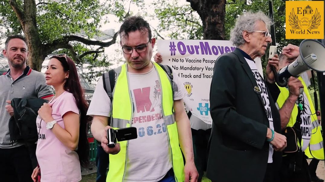 Piers Corbyn Speech at Million Freedom March on 29 May 2021