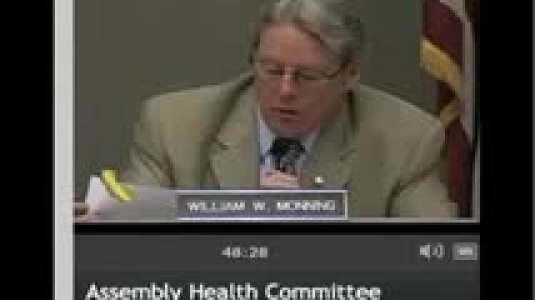 CA Health Committee Hearing on Vaccine Exemption Bill AB2109 April 27, 2012 Part 1