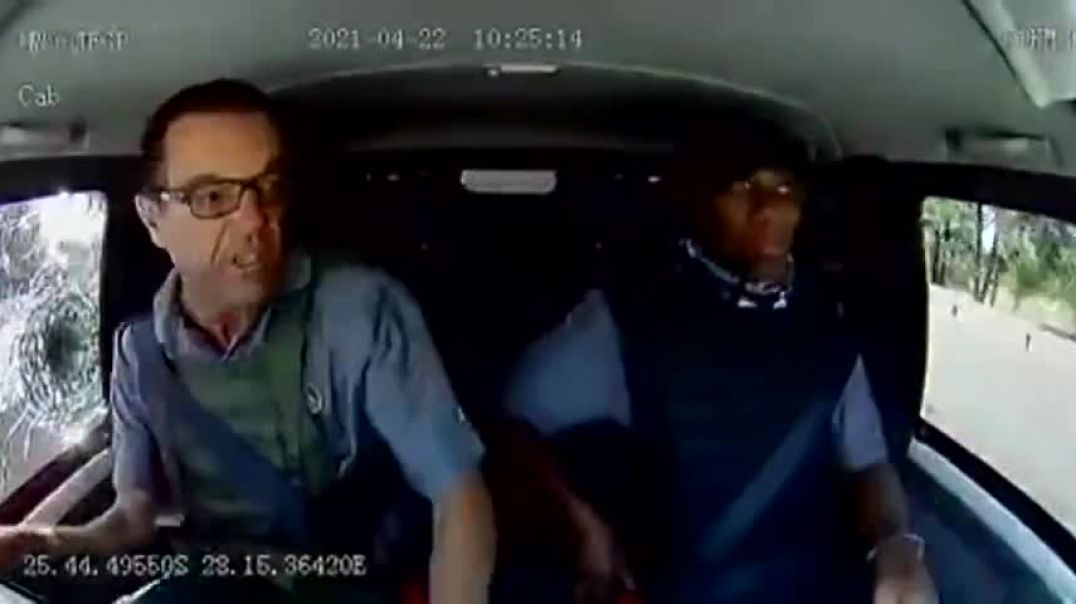 Meanwhile In S Africa - Failed Cash Heist.