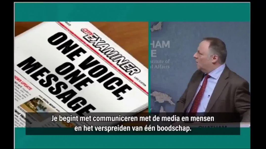 Secretly made video of van ranst a belgium virologist politician teaches other in english how to mak