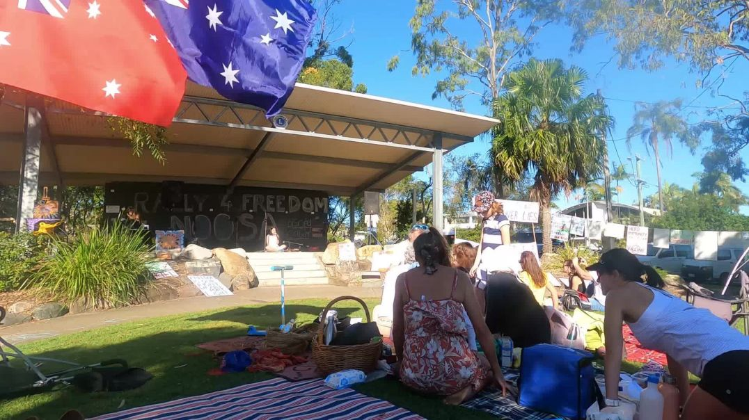 Natalie Rose Gauci Freedom Day 15th May Noosa Rally