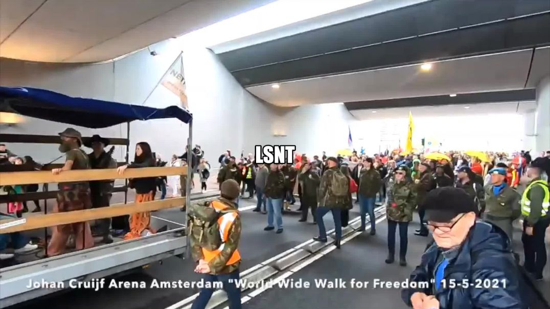 PROTEST! Netherlands Today 15/05/2021 Standing With The WORLD!