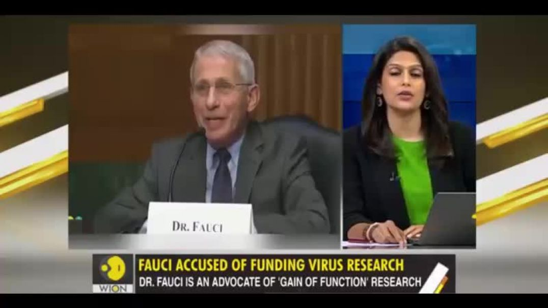 Evil FAUCI has been researching in USA and Wuhan to make VIRUSES super deadly