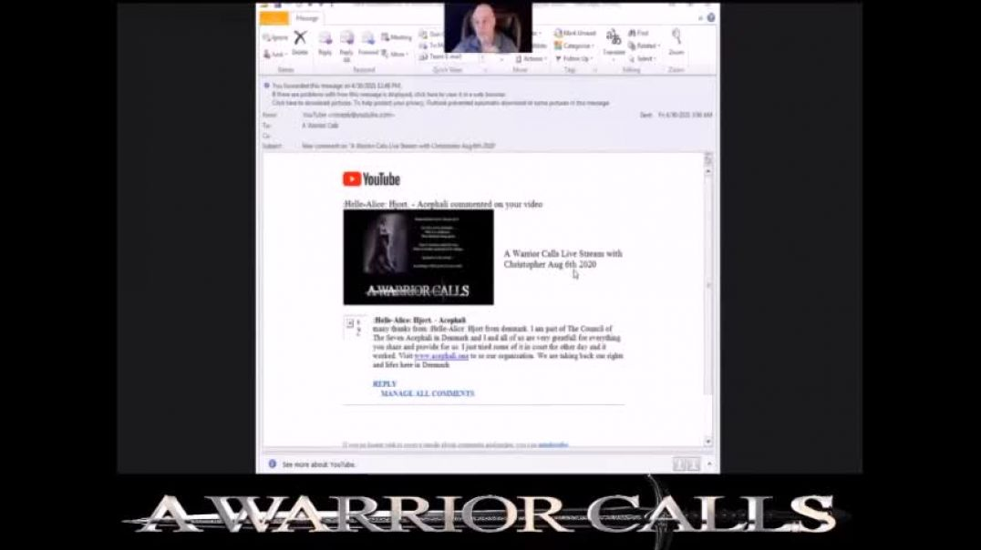 "A Warrior Calls - How they spread their 'vaccine', ""that's where 5G comes in&quo"