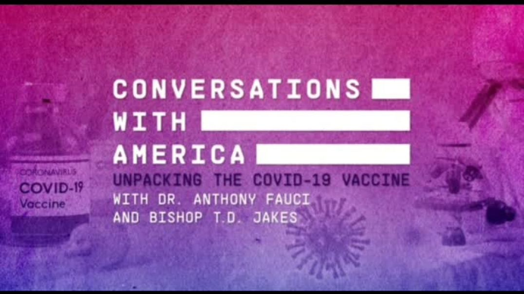 TD JAKES AND IS TEAM AS THEH TRY TO CONVINCE BLACK PEOPLE TO TAKE THE VACCINE