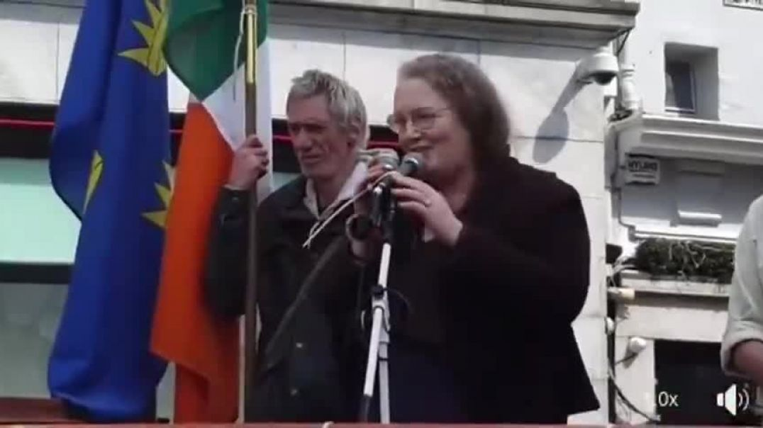 PROF DOLORES CAHILL - CORK IRELAND - 1st MAY - TAKE YOUR POWER BACK