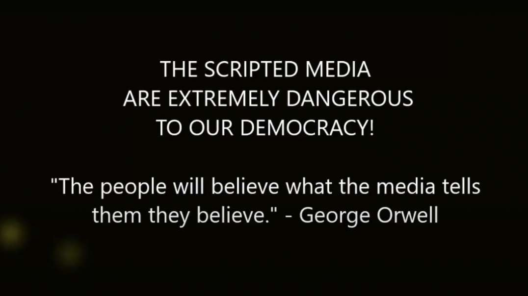 NO LONGER REPORTING THE NEWS- THE MEDIA TAKES ITS ORDERS