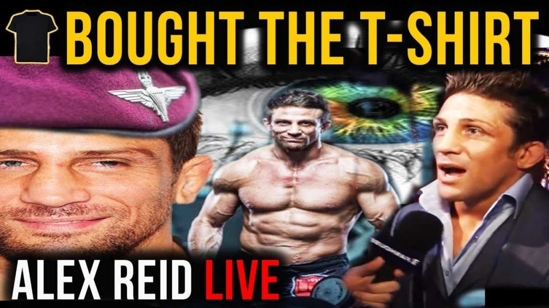 Alex Reid LIVE- A Bought The T-Shirt Podcast SPECIAL