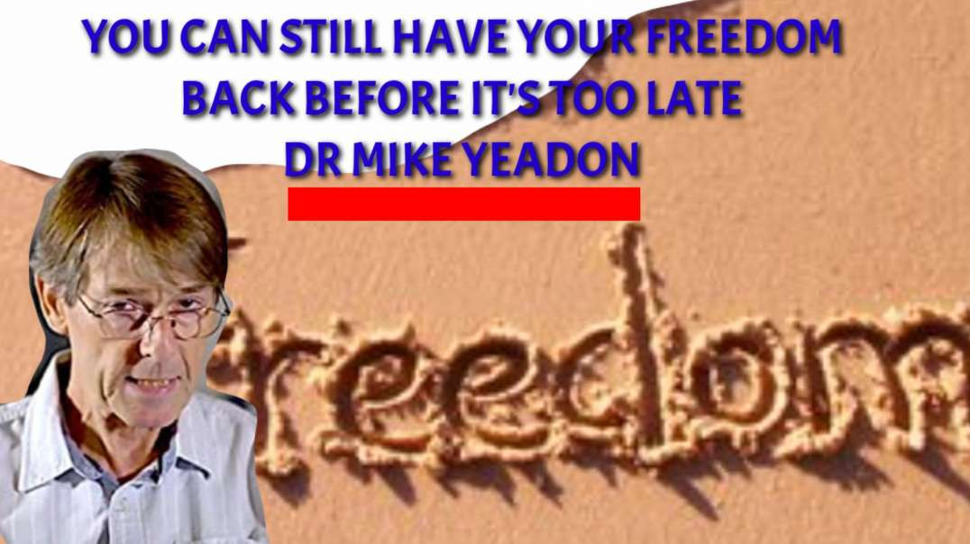 You can still have your FREEDOM back before it's too LATE