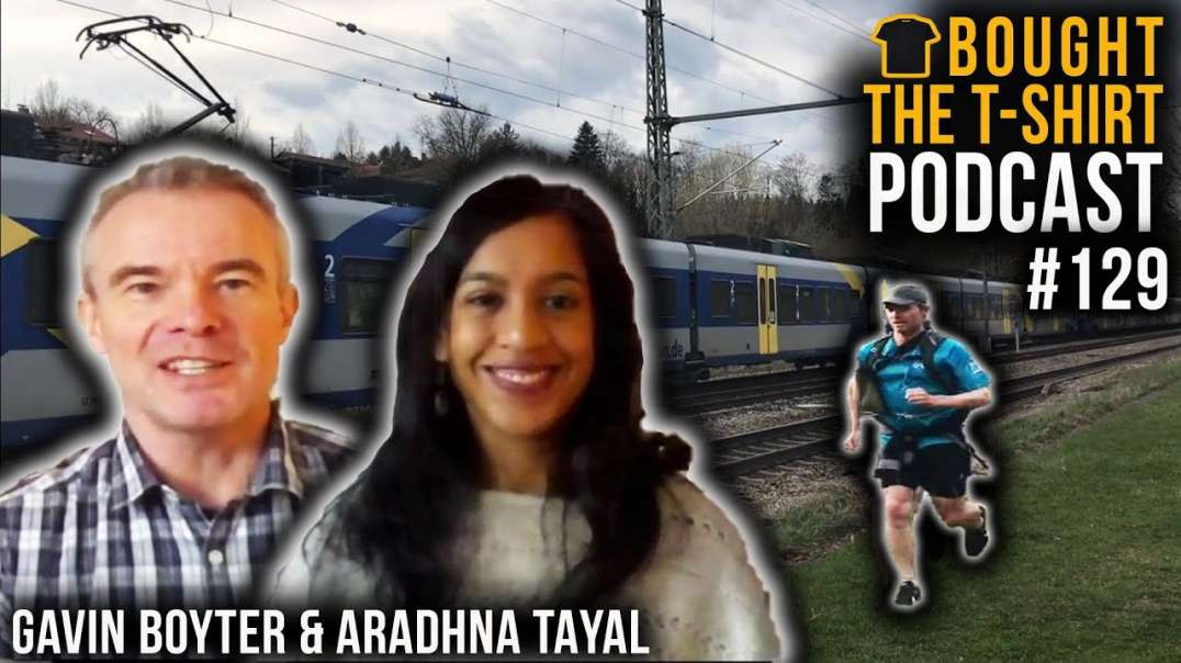 COMMANDO Mindset Vs ULTRA | Gavin Boyter & Aradhna Tayal Talk Running With Royal Marine Chris Th