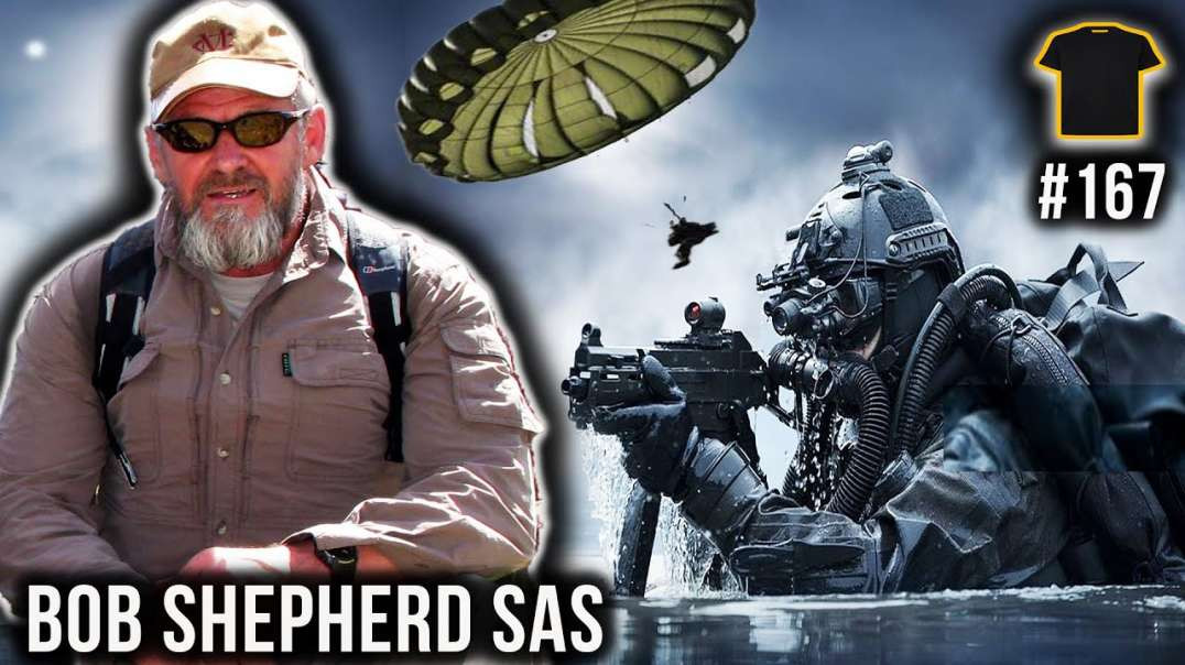 SAS Parachuting Into The South Atlantic Iranian Embassy Siege Bob Shepherd Special Air Service