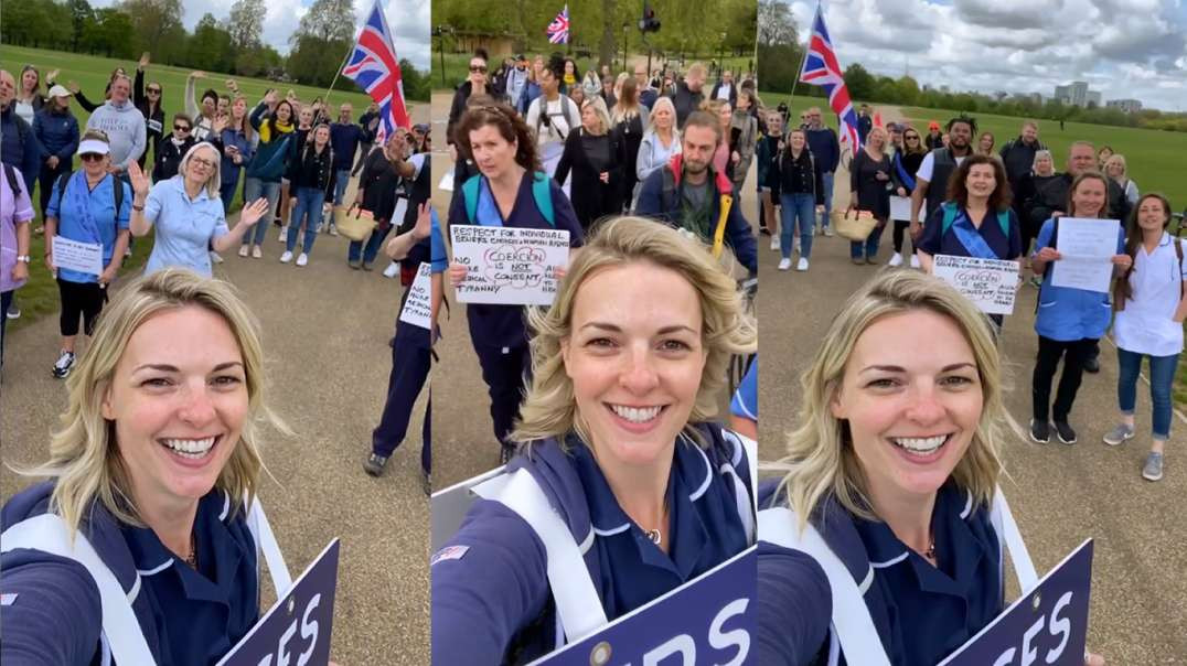"""""""I want to help connect people locally."""" Jenna RGN RMN - Not NHS nurse"""