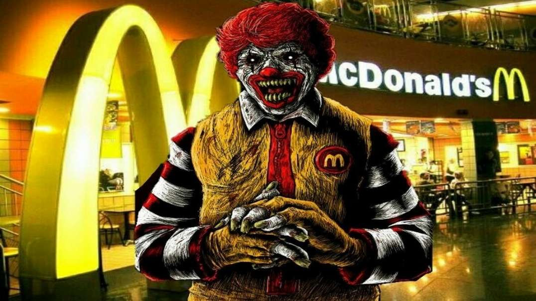 RONALD MCDONALD WANTS YOU JABBED!