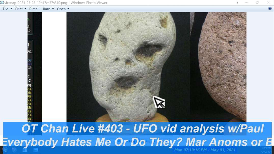 UFO vid Catch up w}Paul - Everybody Hates Me or Do They, Mars Anoms+UFO Chat ] - OT Chan Live-403