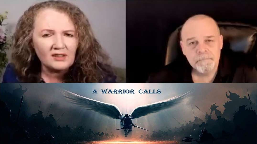 Prof Dolores Cahill with Christopher James The Warrior Calls Show