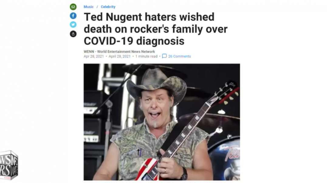 Criminals are Hiding Covid-19 Treatments, Says Ted Nugent