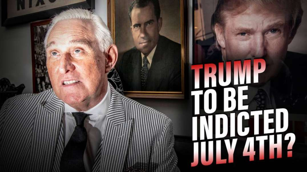 Roger Stone Breaks Down Deep State's Plan To Indict Trump