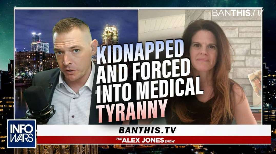 Mother Kidnapped by Police, Battles Medical Tyranny After Confronting Pedophile Husband