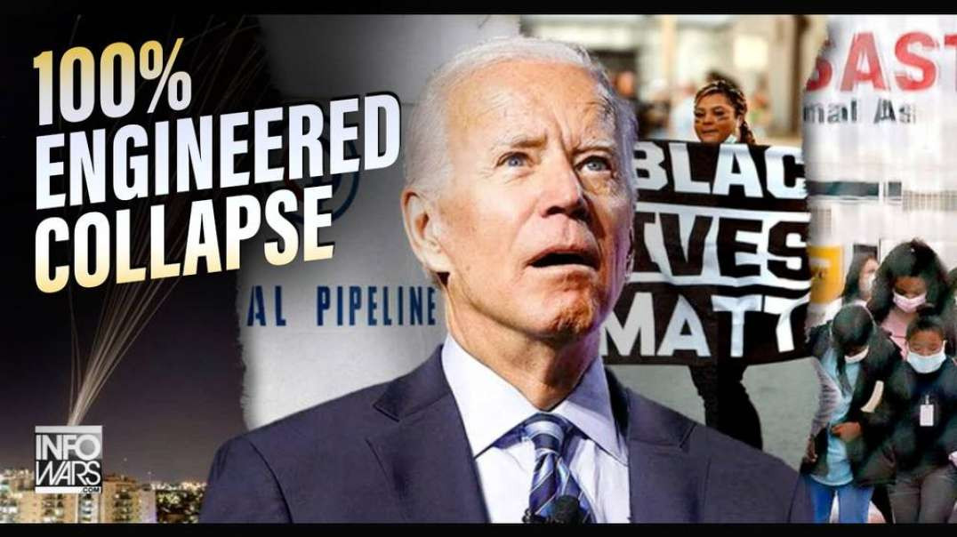 Pipeline Inspector Calls In to The Alex Jones Show: 'It's 100% Engineered Collapse'