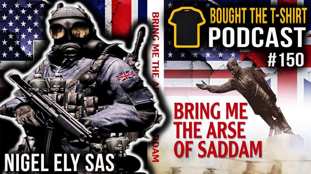 SAS Legend On The Fight For Goose Green | Nigel Ely Special Air Service | Bought The T-Shirt | #150