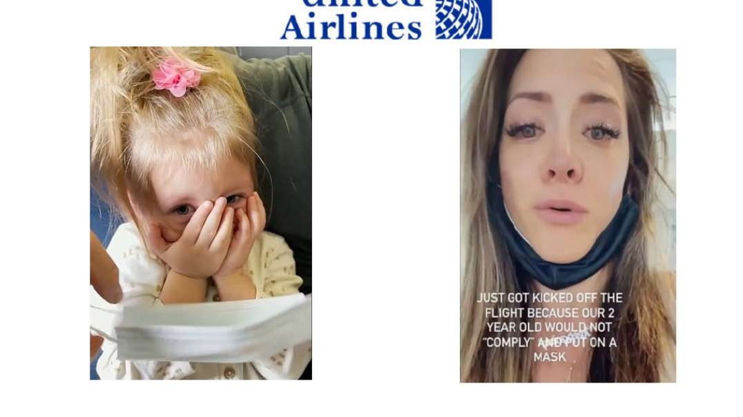 2 year old SCARED to wear face mask, so family GETS THROWN OFF PLANE.