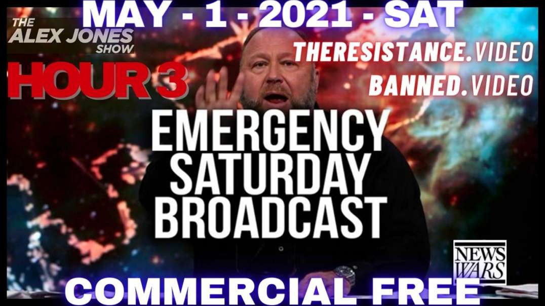 HR3: Emergency Saturday Broadcast: The Next Phase Of The Great Reset Is Here