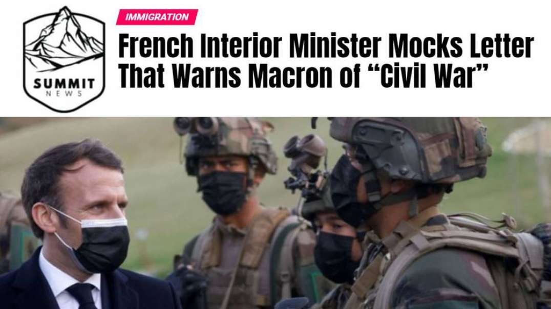 Is France Heading For Civil War?