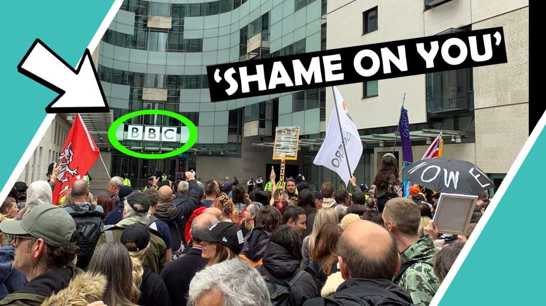 Thousands Outside BBC Shout SHAME ON YOU! / Hugo Talks Some More #lockdown