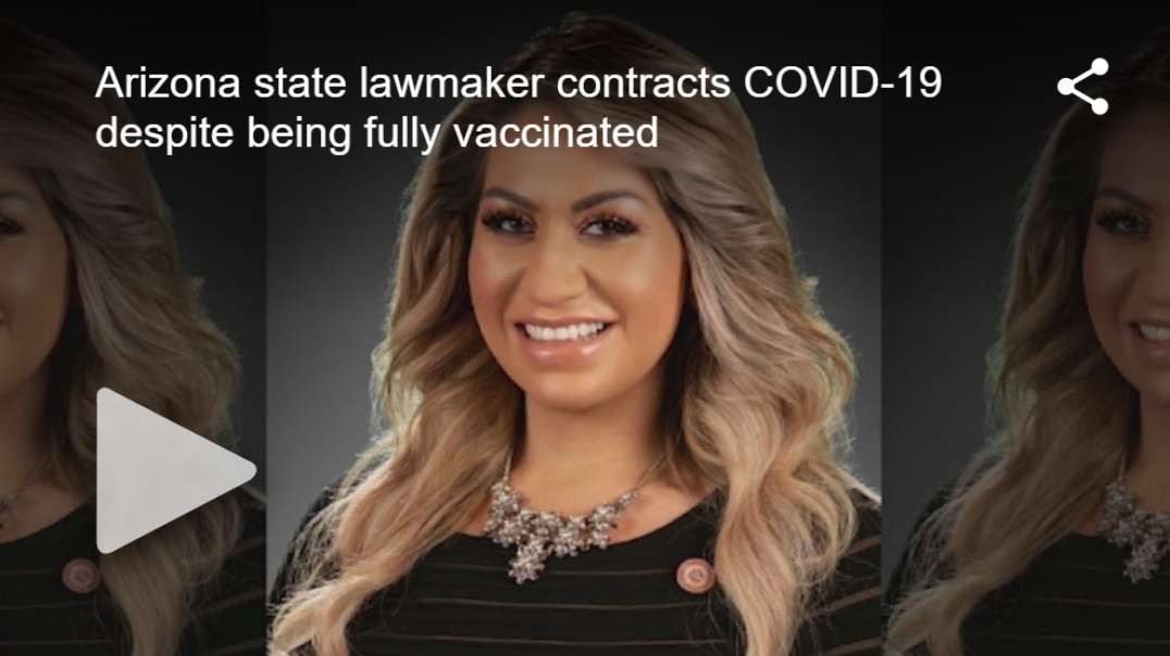 Arizona lawmaker - Rep. Alma Hernandez - contracts COVID after receiving both doses of POISON!