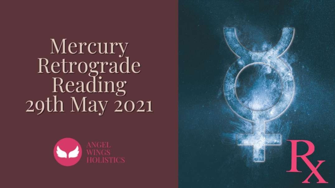 Reading for Mercury Retrograde 29th May 2021 - featuring my cat!