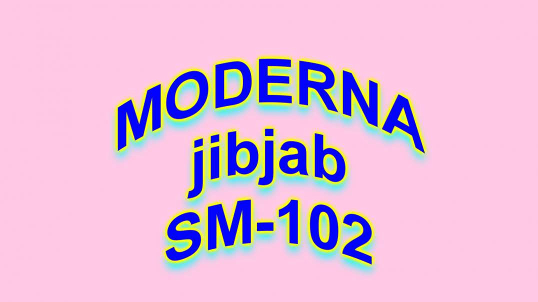 Moderna Ingredients is poison!