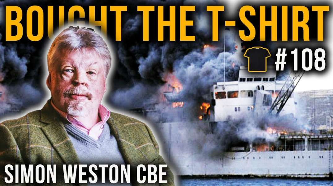 Simon Weston CBE | Falklands War | Welsh Guards | Resilience | Bought The T-Shirt Podcast | #108